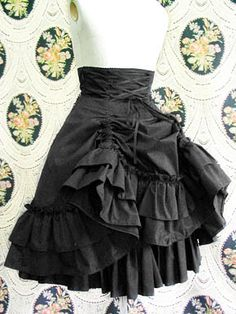 Tutorial for a High-Waist Skirt... I've pinned the floral version before but I really do LOVE this skirt - It is on the 2013 'to-do' list!