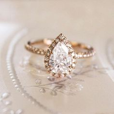 Romance in rose gold. #BrilliantEarth #EngagementRing