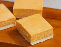 "#Pumpkin Cheesecake Bars by The ""Chocolate-Covered"" Diet"