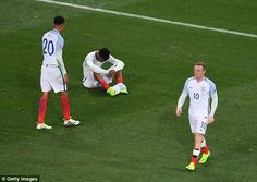 After defeat by Iceland sent England crashing out, only Wayne Rooney (right) and Joe Hart . Soccer News, Football Soccer, England Euro 2016, England Players, Wayne Rooney, Match Highlights, England Football, Iceland, Britain