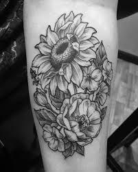 Image result for vintage flower tattoo
