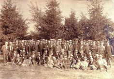 Delegates to Sidepath Convention at Rochester, N.Y., 1899. Courtesy of the Central Library of Rochester & Monroe County, New York