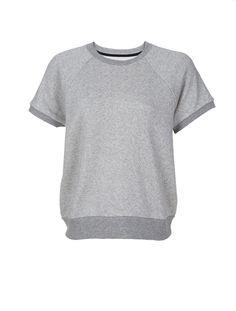 Short Sleeve Rocky Sweatshirt :: Women   Scoop NYC