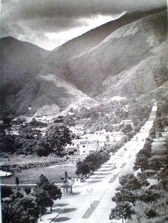Altamira,  Avenida  San Juan Bosco - Caracas.. Año  1950