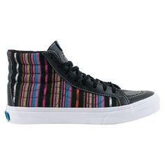 Vans Sk8-Hi Slim (Guate Stripe) black kengät