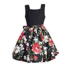 Garden of Roses Classic Girl's Dress An updated look to a classic style. Soft and flowing poly waisted dress has comfortable black gabardine bodice with square… Shop for Girls Christmas Outfits & Dresses, Girls Holiday Dresses from Wooden Soldier. Girls Special Occasion Dresses, Girls Christmas Outfits, Dresses For Tweens, Girls Christmas Dresses, Little Girl Dresses, Kids Outfits, Girls Dresses, Classic Girl, Classic Style