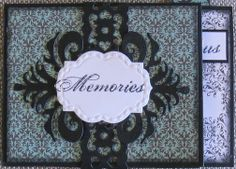 Couture Creations: Memories Mini Album by Jo Piccirilli | #couturecreationsaus #decoativedies #ornamentallacedies #embossingfolders #minialbum #CreatedUsingOne SheetOfCardstock #cre8time