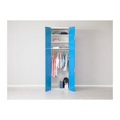 STUVA Komb za odlaganje s vratima - bij/plv - IKEA