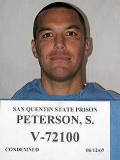 Lying, cheating Scott Peterson, was sentenced to death by lethal injection in March of 2005 after being convicted of murdering Laci and their unborn son, Conner, and tossing them in the San Francisco Bay on Christmas Eve day of Assassin, San Quentin State Prison, Scott Peterson, Famous Murders, Celebrity Mugshots, Lethal Injection, Real Monsters, Evil People, Criminal Minds