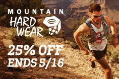 Mountain Hardwear clothing & gear on sale now! All the camping!