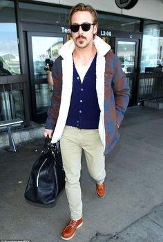 Shop ryangosling, outfit, pants, shirt, shoes on SeenIt - 1126