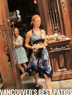 Ranking Vancouver's Best Restaurant Patios, Al Fresco Oases And Secret Hideaways… Vancouver Food, Secret Hideaway, Restaurant Patio, Fine Dining, British Columbia, Fresco, Suitcase, Restaurants, Magazine