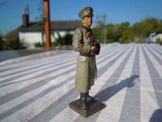 Lineol Elastolin Offizier mit beweglichen Arm 7,5 cm Massesoldat   eBay