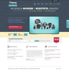 Web Development Agency by ~sunilbjoshi on deviantART #webdesign #layout #inspiration