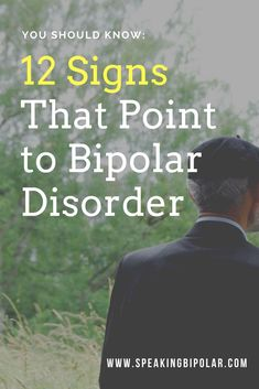 Bipolar Disorder (BPD) can be very disruptive, but it is also very treatable. This post looks at 12 common signs of bipolar. Bipolar Disorder Signs, Living With Bipolar Disorder, Bipolar Signs, Anxiety Disorder, Signs Of Bipolar Depression, Depression Symptoms, Fighting Depression, Bipolar Symptoms, Optimism