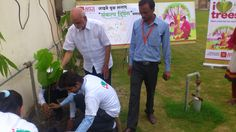 #SHRI Group With the monsoon just round the corner, the Shri Group ... have already started planting trees in various sectors of Noida and Greater Noida.