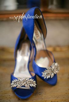 "8e38fac687d24c Top 20 ""Something Blue"" Wedding Shoes | Bridal Musings Wedding Blog  #bridalshoes Wedding"