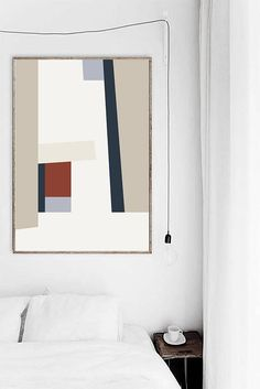 Abstract Geometric Print. Mid Century Modern Print. Mid Century Art Print. Mid Century Print. Geometric Wall Art. Shapes Print. Retro Print  ---All Artwork is Printed on High Quality, 56 lb Premium Pro Matte Paper using Premium Quality Ink  ---FREE Standard Shipping Anywhere in the
