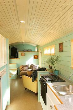 32-Foot Gooseneck Tiny House - Mitch Craft Tiny Homes - Colorado - Through Home - Humble Homes