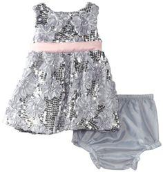 Rare Editions Baby Girls Newborn Sequin Soutach Dress, Silver, 0-3 Months Rare Editions,http://www.amazon.com/dp/B00CJ55HGG/ref=cm_sw_r_pi_dp_SIAesb1CMHHG4N9Z