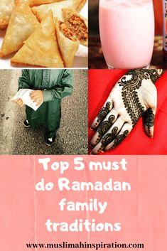 (Article) Top 5 Must do Ramadan Family Traditions