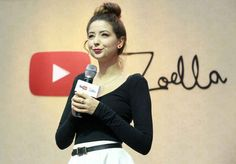 This is Zoe Sugg, aka Zoella. She is arguably one of the most marketable people in Britain right now.