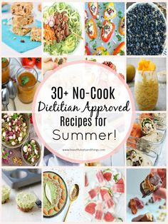 30+ No-Cook Dietitian Approved Recipes For Summer right here! No need to turn on your oven because these meals are prepared without heat! summer recipes | Registered Dietitian approved recipes | no bake recipes | healthy no bake recipes | healthy recipes no cook | healthy recipe round up | clean eating recipes | whole30 | paleo recipes | vegan recipes | gluten free recipes | weight watchers recipes