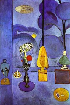 The Blue Window by Henri Matisse