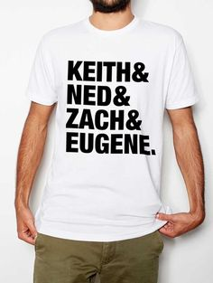 The Try Guys Keith & Ned & Zach & Eugene T-Shirt – Shop BuzzFeed