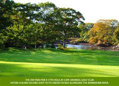 Cape Arundel Golf - a gorgeous course along the river