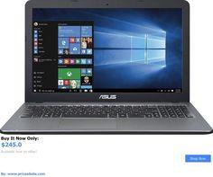 general for sale: New Asus Vivobook X540sa 15.6 Laptop 4Gb Mem 500Gb Hdd Intel Dvd/Cd Drive Hdmi BUY IT NOW ONLY: $245.0 #priceabategeneralforsale OR #priceabate