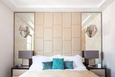 En los dormitorios, las cabeceras fueron diseñadas por Nick Leith-Smith. | Galería de fotos 6 de 9 | AD MX