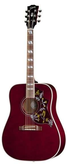 GIBSON Acoustic: Hummingbird Wine Red (Limited Run)