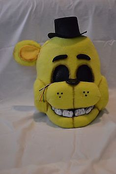 Five Nights at Freddy's, Golden Freddy, Display/ Costume Mask ONE OF A KIND!