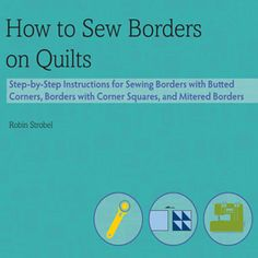52 quilt tutorials. Love, love, love this site. There's something for every quilter on this site.
