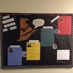 Harry Potter Res Life Bulletin Board