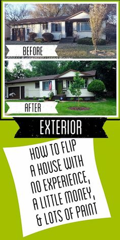 How to Flip a House. They actually spent quite a lot, but there are some good DIY ideas here. But there is also some really, cheap stuff they did that I just would never do to any unsuspecting buyer!