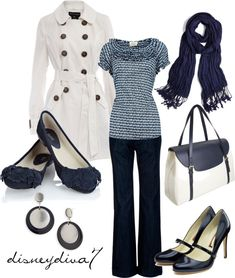 """Navy Blue"" by disneydiva7 ❤ liked on Polyvore"