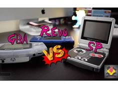 Game Boy Advance VS Game Boy Advance SP VS Revo K101 Plus | TheGebs24