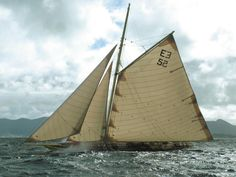 I love this cutter, but I was disappointed to read on and learn that they had chopped down the mainsail, added a mizzen, and make it a yawl. What a shame.