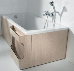 Elegant Multifunctional Bathtub Panels from Roca - Freshome.com