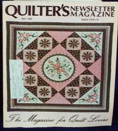 Quilter�s Quilters Newsletter Magazine #172 1985 May
