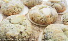Mandel-Mohn-Plätzchen mit Zitronenguss | laktosefrei | glutenfrei