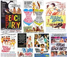 1960s-surf-beach-party-movie-posters-bikini-beach-beach-blanket-bingo-psycho-beach-party.jpg 1.200 ×1.029 pixel