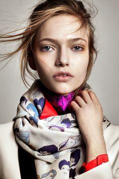 scarf   by Barbara Agnes