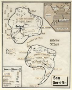 A history of the 20th century in 100 maps - 1977: April fool! Visit Sans Seriffe