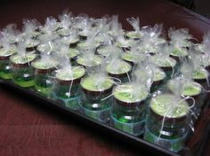Baby Food Jar Party Favors by