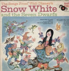 The Songs From Walt Disney Snow White And The Seven Dwarfs English Vinyl LP