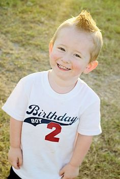 Birthday Boy or Girl TShirt or Baby Onesie 2 color, 2 sided by designstudiosigns, $27.50