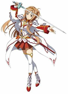 Asuna (Yuuki Asuna) Hollow Fragment - By Sword Art Online ღ